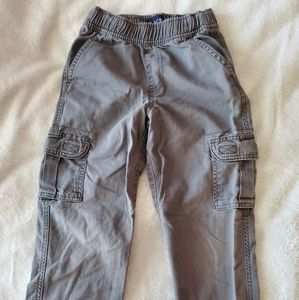 Children's place size 6 grey cargo pants